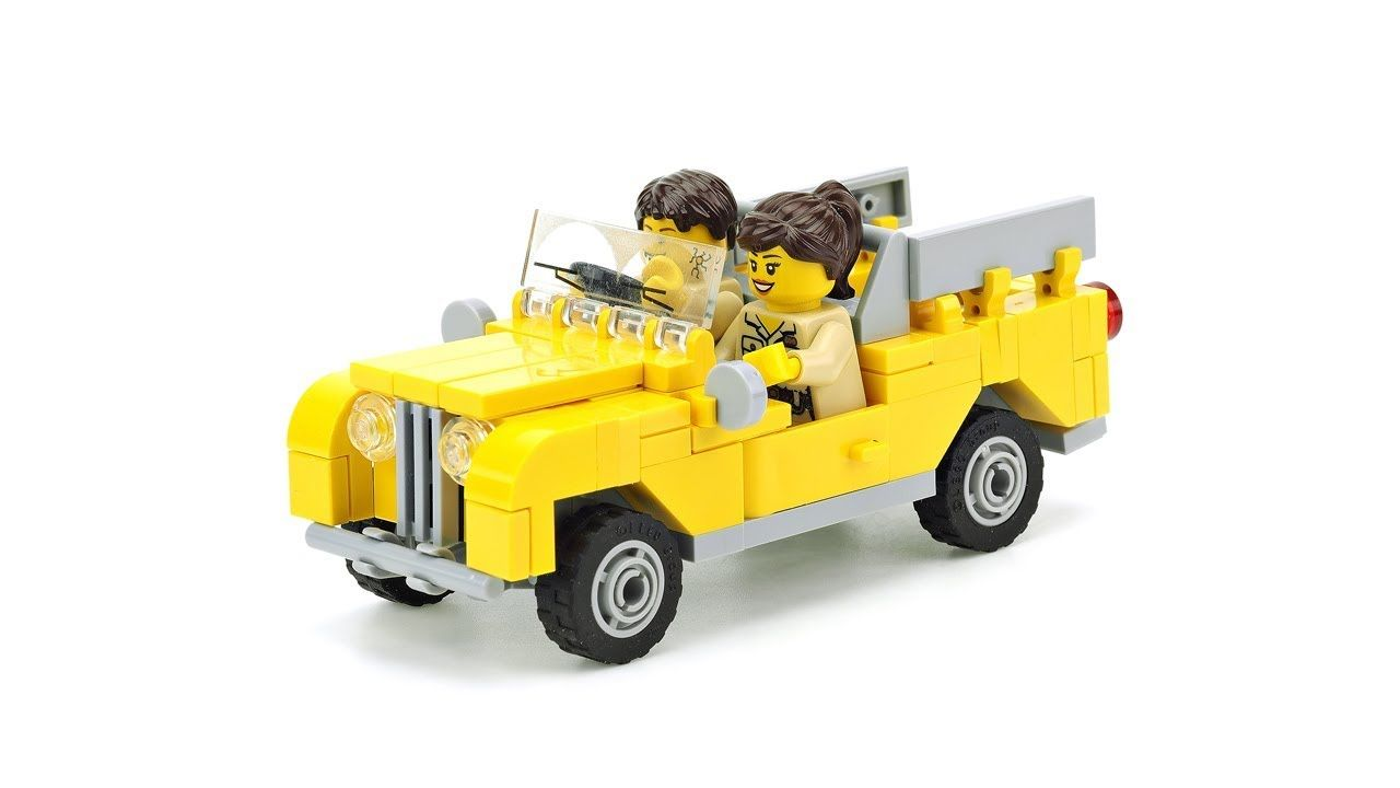 custom built lego Land Rover Series 2 INSTRUCTIONS ONLY