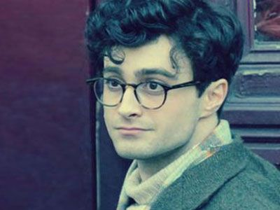 Daniel Radcliffe, portraying poet Allen Ginsberg in Kill Your Darlings.