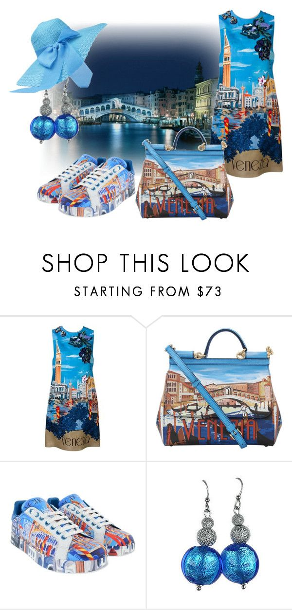 """Venezia"" by wickedangel ❤ liked on Polyvore featuring Dolce&Gabbana and Antica Murrina"