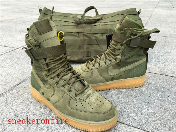6db39f1b67 Nike Special Field Air Force 1 Green #sfaf1 #af1 #af #sf #sf1 ...
