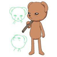 Mr. Bear from Alice Academy