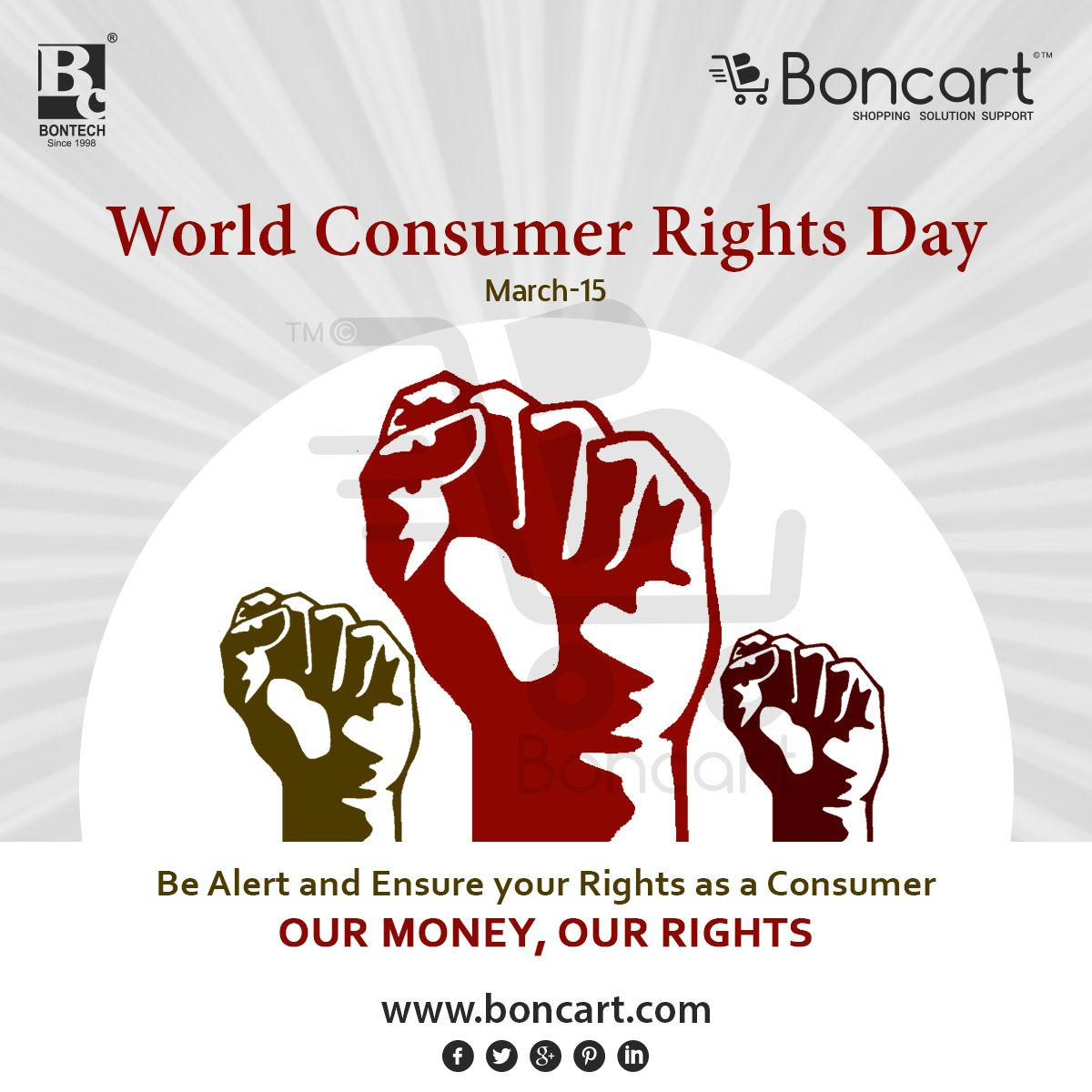 World Consumer Rights Day March 15 Awareness Poster Creative Posters Consumer Protection