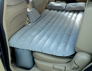 This Nice Inflatable Air Bed Mattress Is Great For Car Camping