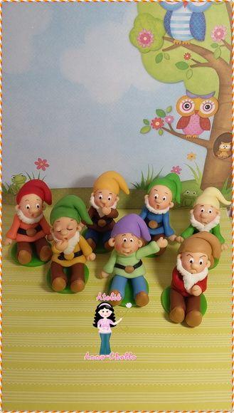 Sete anões biscuit