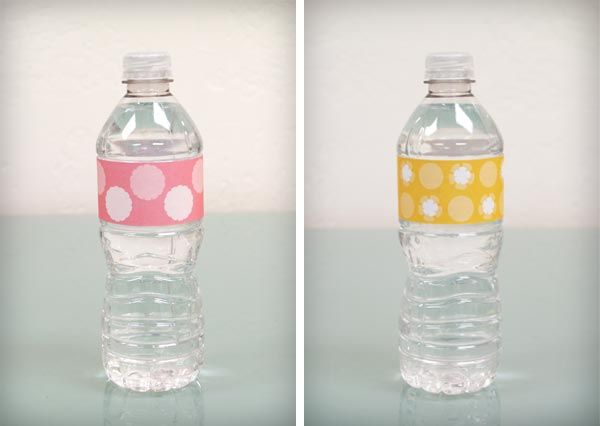 How to cheaply Waterproof Water Bottle Labels - diy tutorial ...
