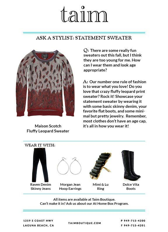 Ask-A-Stylist-Statement-Sweater taimboutique.wordpress.com
