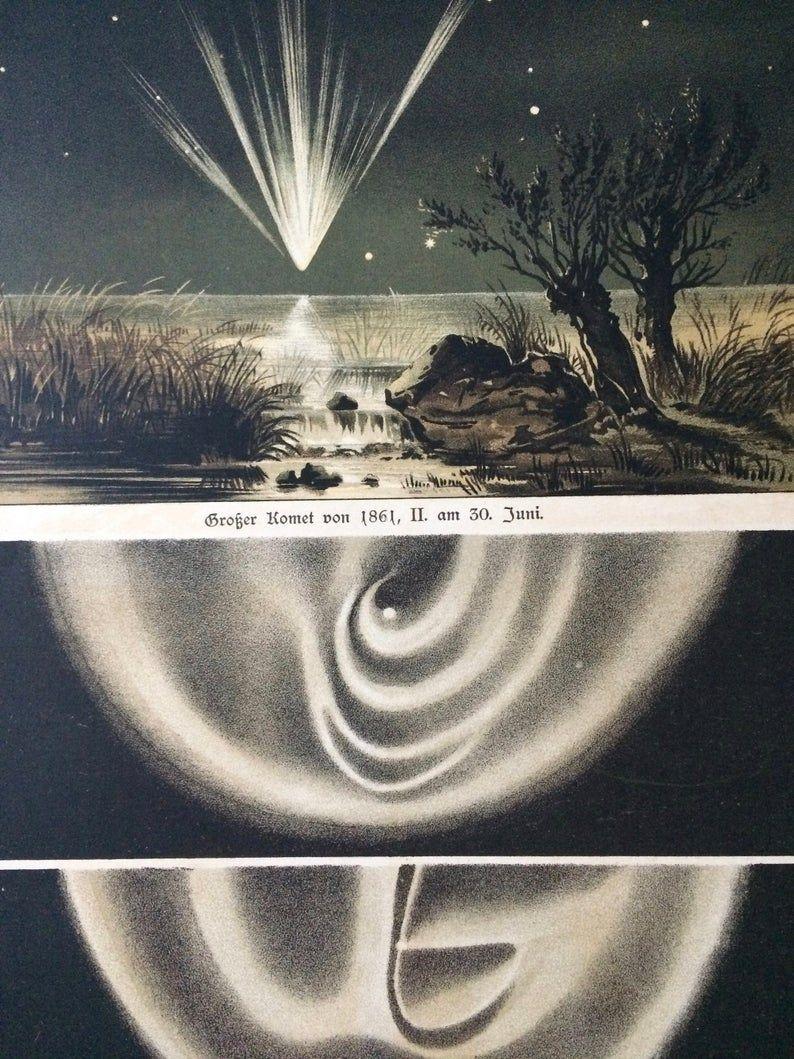 September morning before sunrise 1877 ASTRONOMY Zodiacal Light in Europe