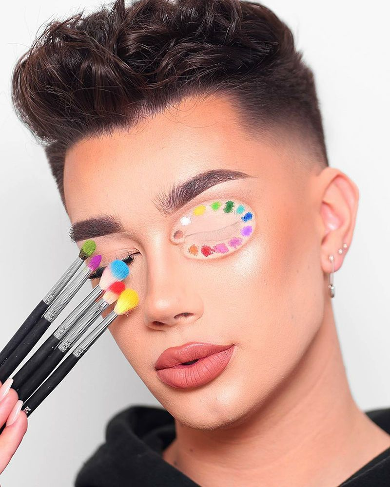 Makeup is My Palette, My Face is My Canvas: Makeup as Art by James Charles   Журнал Ярмарки Мастеров