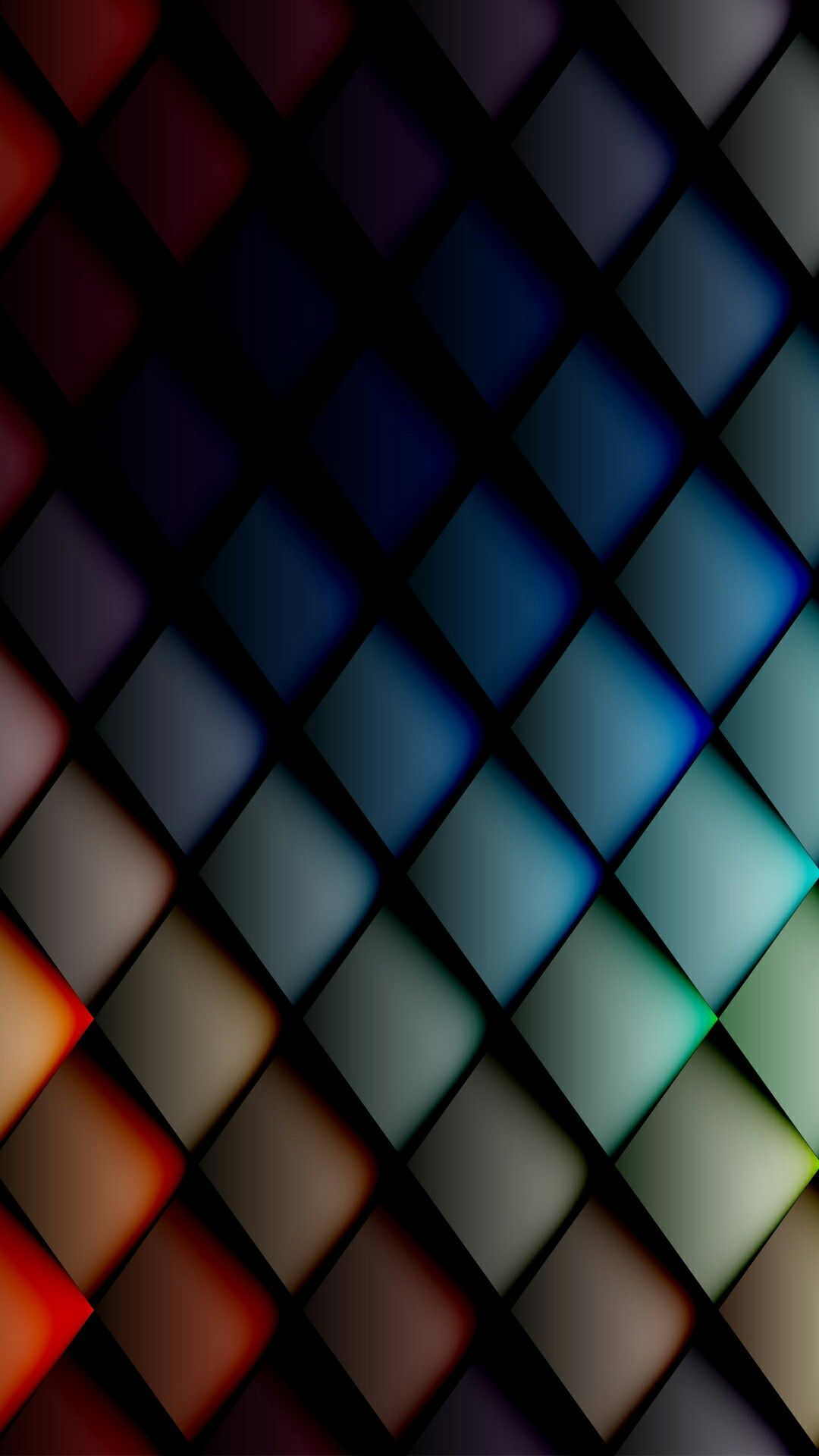 Colorful 3D Wallpaper   *Abstract and Geometric Wallpapers   Iphone wallpaper, Mobile wallpaper ...