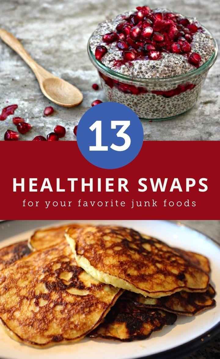 13 healthier alternatives to your favorite junk foods healthy 13 healthier alternatives to your favorite junk foods forumfinder Images