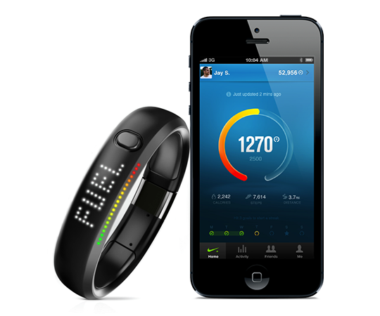 Nike+ Fuelband Fitness Tracker - Assorted Colors - First Generation What it  TracksThrough a sports-tested accelerometer, Nike+ FuelBand tracks your  daily ...