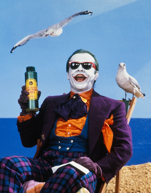 the real Joker, the other guy with an Oscar is a joke