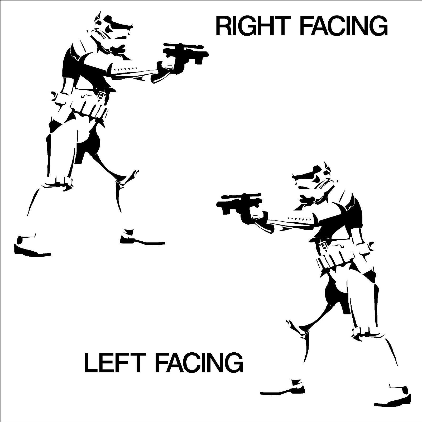 Star wars storm trooper wall art vinyl room sticker decal movie stencil