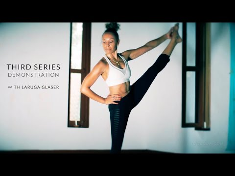 ashtanga yoga  third series demonstration with laruga