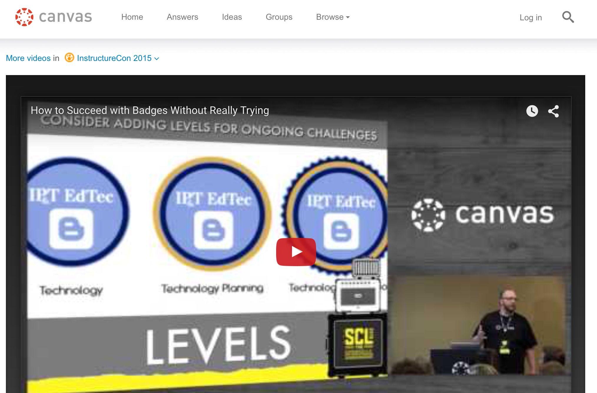 Digital Badges for Learning