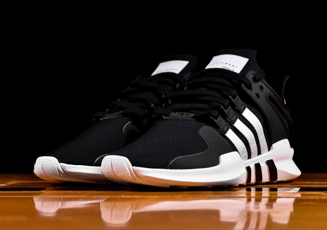 huge selection of 14450 b3e31 The adidas EQT Support ADV has arrived in a classic blackwhite colorway  that harkens back to the genesis of the EQT line. Featuring an upper  constructed