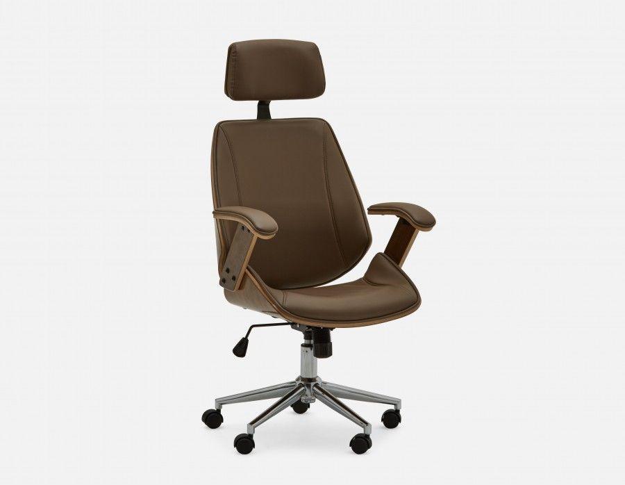 Cove Tan Office Chair In 2019 Modern Desk Chair Modern Desk Chair