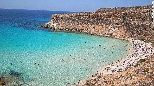 Cnn World S 100 Best Beaches Top 25 2 Rabbit Beach Lampedusa Italy Beaches In The World Beach Fun Beautiful Beaches