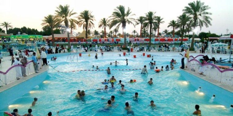 الحديقة المائية ووتر سبلاش الرياض Splash Park Outdoor Outdoor Decor
