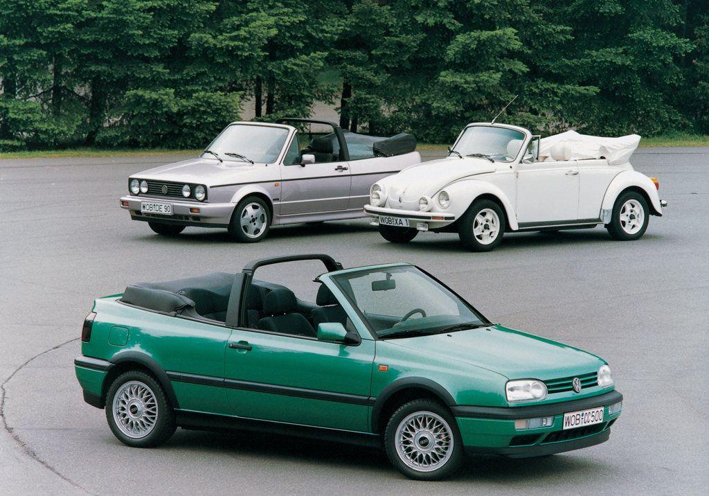 Vw Golf Iii Cabrio 1993 1998 Volkswagen Volkswagen Golf Vw