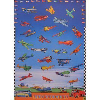 1976 Vintage Fiorucci Fashion Poster, Fioruccino