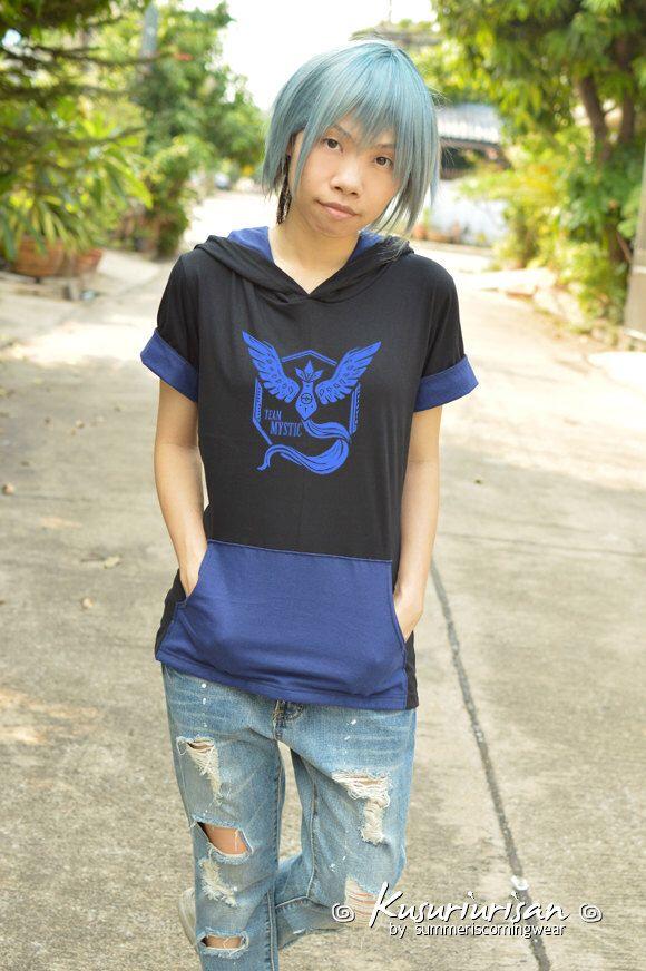 blue rescue team MYSTIC t shirt hoodie short sleeve by kusuriurisan on Etsy https://www.etsy.com/listing/453220522/blue-rescue-team-mystic-t-shirt-hoodie