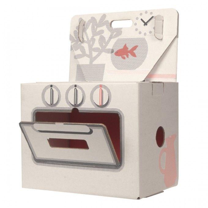 Bouwpakket Huis En Keuken Van Karton Grootmoeders Keuken