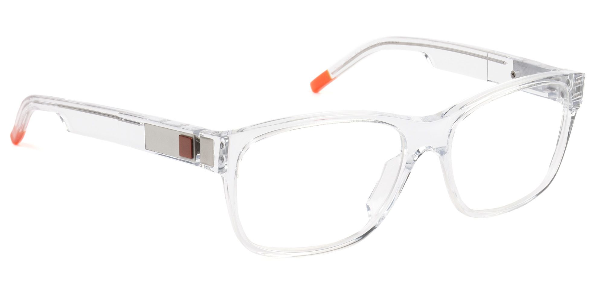 de stijl holland 1924 eyewear men eyeglasses frame daan in color 1950 shiny crystal clear
