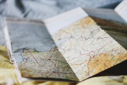 Find your destination with so many different places to call home                                         You Are a Tourist -Death Cab for Cutie