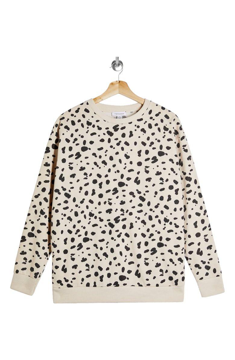 Topshop Leopard Print Sweatshirt Nordstrom Leopard Print Sweatshirt Printed Sweatshirts Sweatshirts [ 1196 x 780 Pixel ]