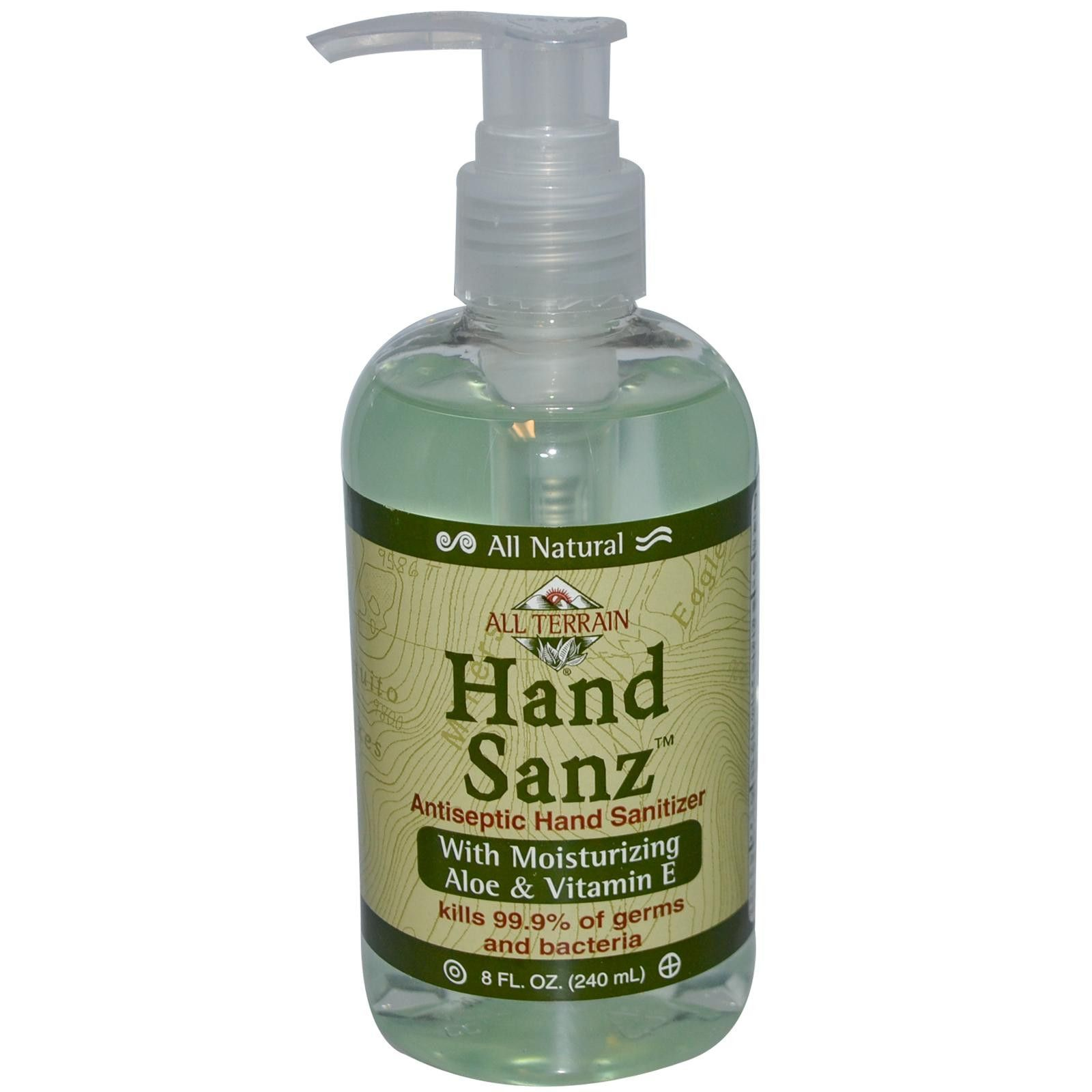 All Terrain Hand Sanitizer Aloe Vitamin E 1x8 Oz Hand