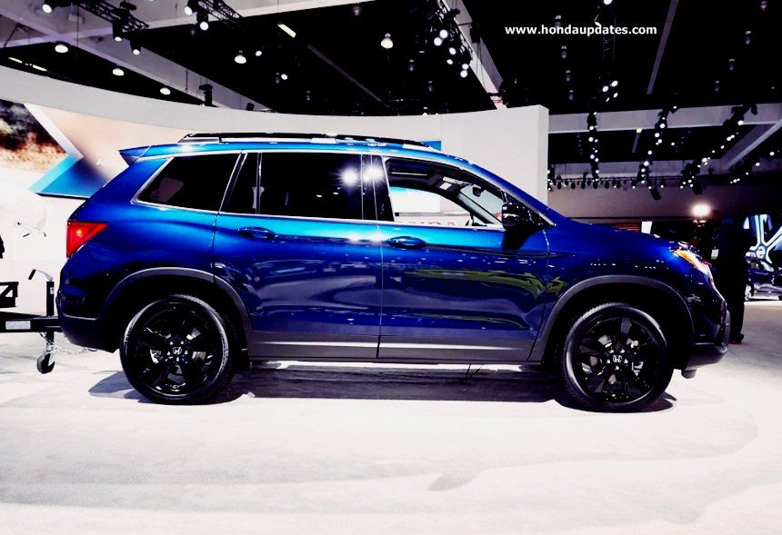 2019 Elite Honda Passport at the Los Angeles Auto Show