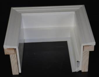 Millcraft PVC Cladding For Garage Door Frame