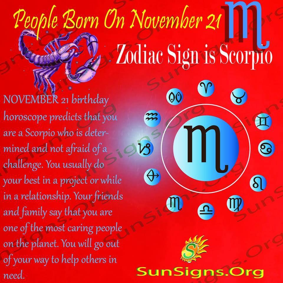 November 21 Birthday Horoscope Personality Birthday Horoscope Horoscope Zodiac Signs