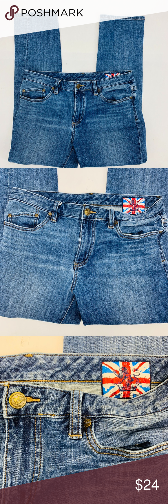English Laundry Jeans Womens 33 Blue Denim C418 You Are Buying