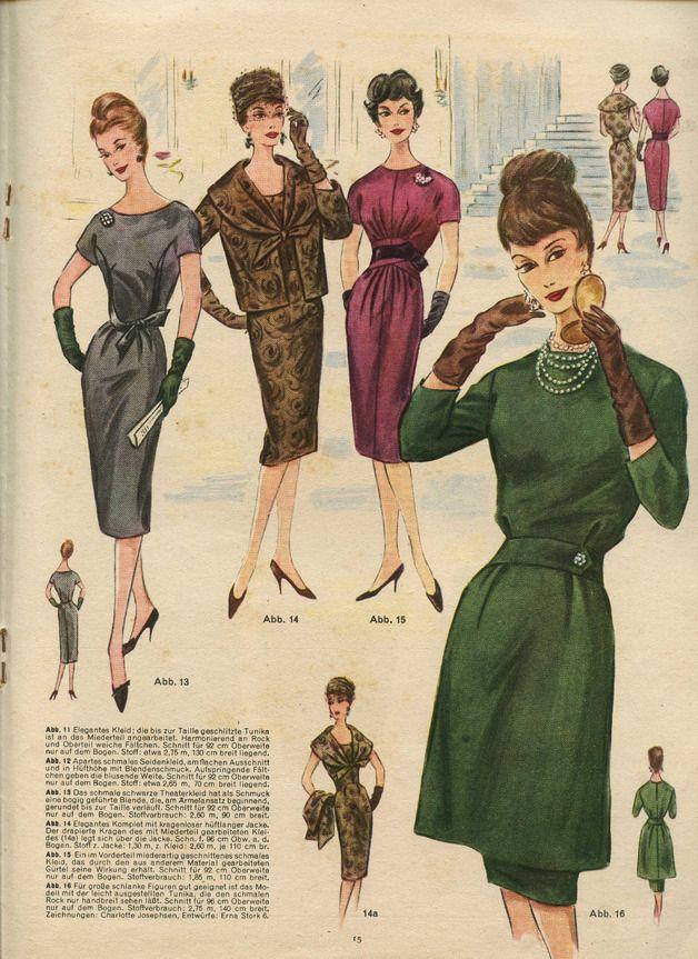 Vintage Schnittmuster - BERLINS Modenblatt - ein Designerstück von ...