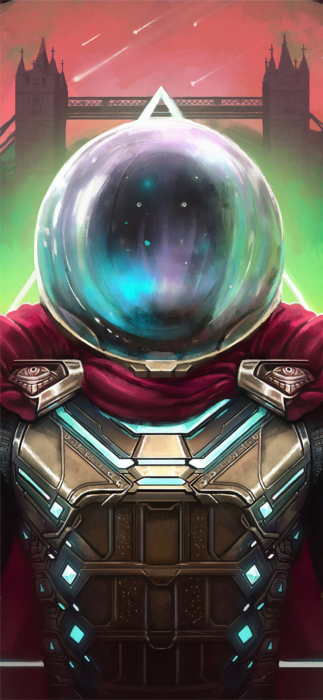 spider man far from home mysterio art 4k iPhone 11