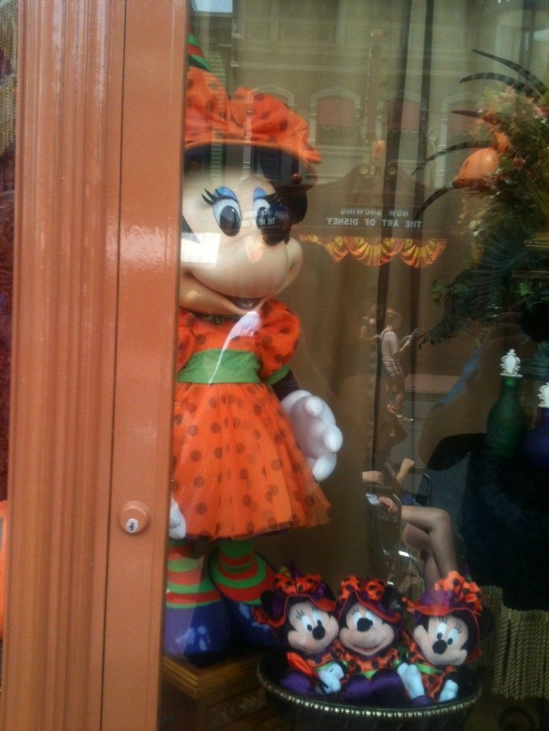 Magic Kingdom is all deck out for Halloween!