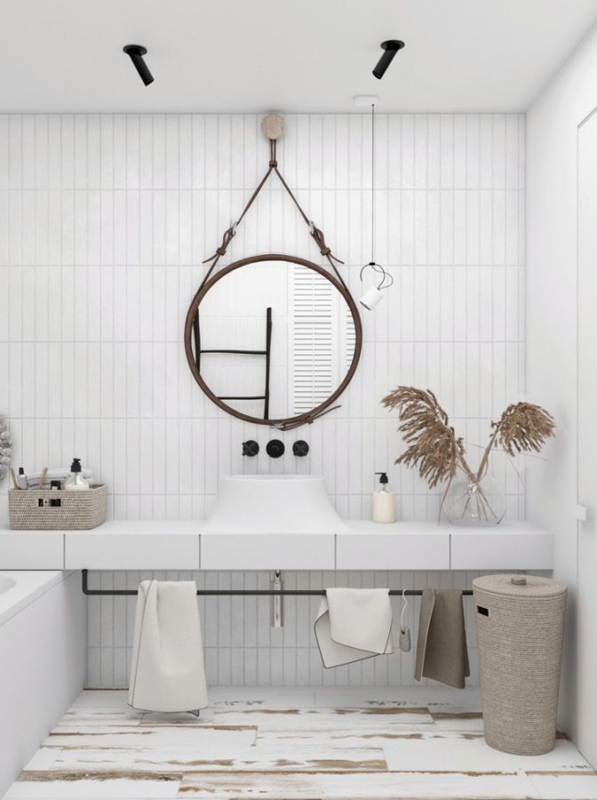 Badezimmer Deko Korb Haus Deko Badezimmer Design Weisse