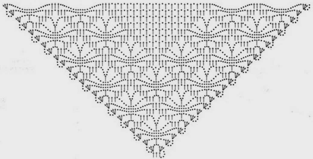 Crochet Shawl For Beginners Diagramms Patterns - Patterns Kid ...