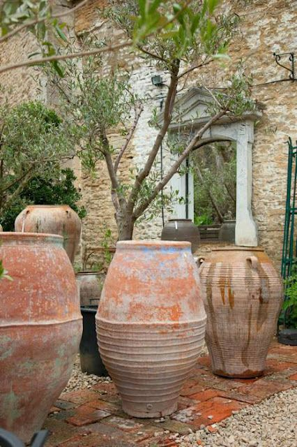 But we have this treasure in jars of clay to show that the la pouyette collection of old water jars and olive pots spain workwithnaturefo