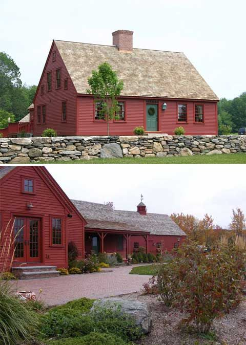 A Charming 18th Century Connecticut Country Home With Old Stone Wall Simply Great