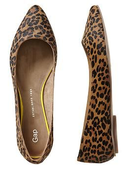 Leopard print-be open to it, especially in a less offensive form like flats.  It's the perfect neutral to mix and match with everything like stripes, other prints, and even bright colors.  Also adds interest to a muted colored outfit.