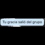 Tu Gracia Salio Del Grupo Facebook Messenger Estados Para Whatsapp