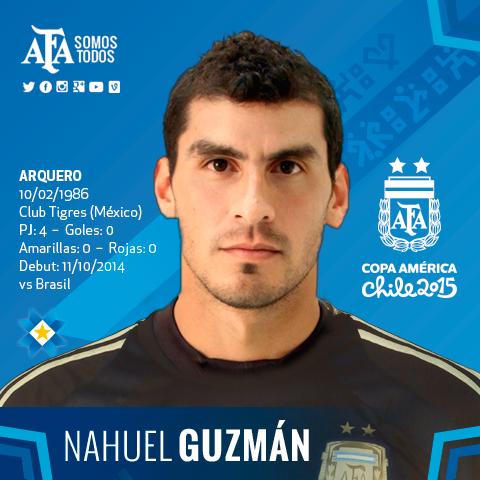 #Chile2015 @PatonGuzman es muy querido en @TigresOficial y @CANOBoficial y es uno de nuestros 23 en la @CA2015.