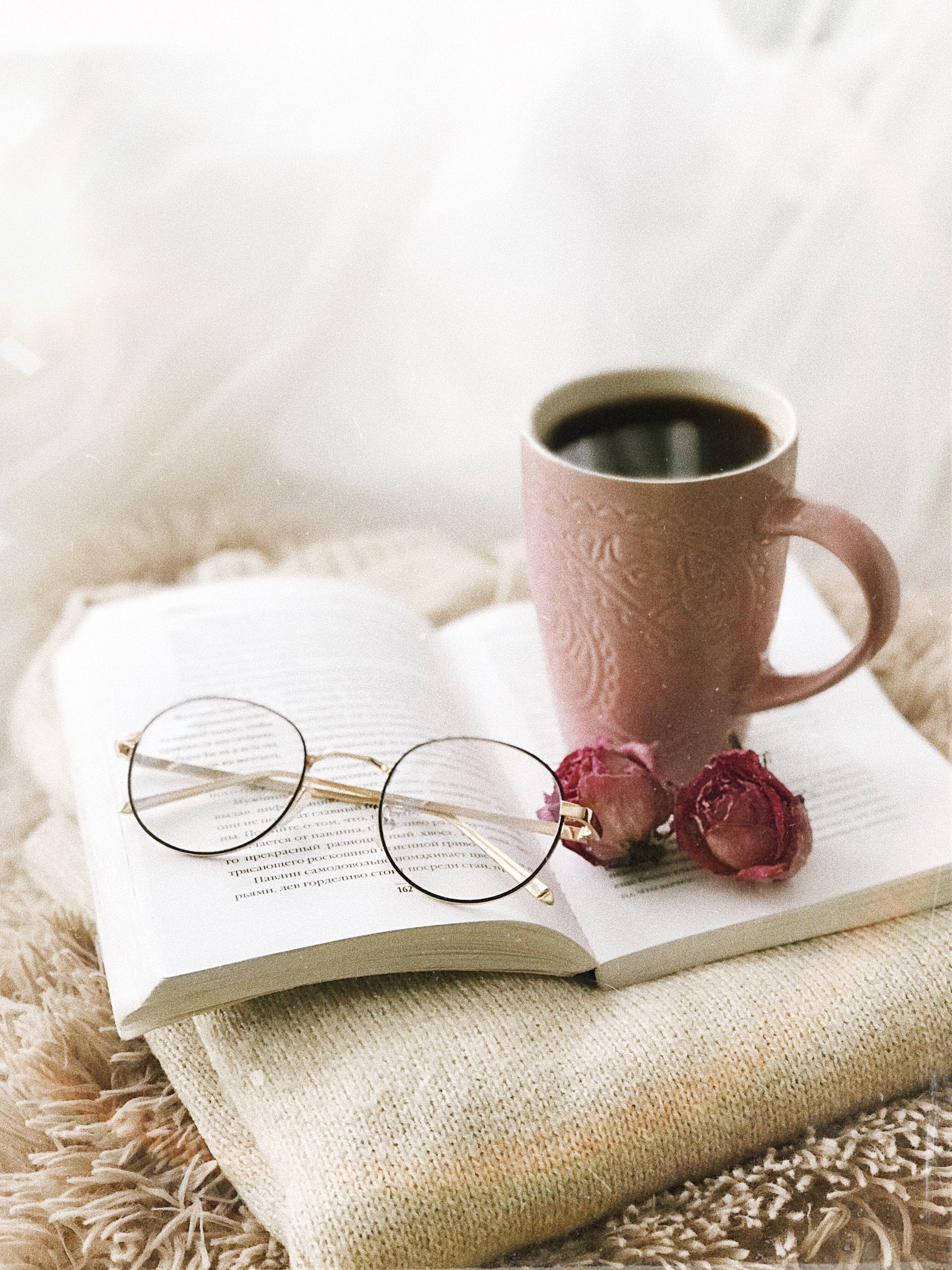 Книга и чашка кофе картинки