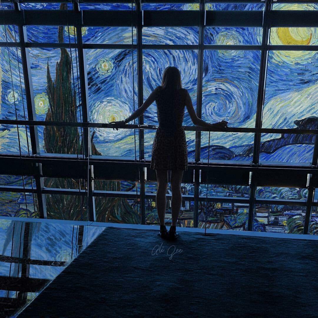 Starry Night Vincent Van Gogh Inspired Noite Estrelada Van Gogh
