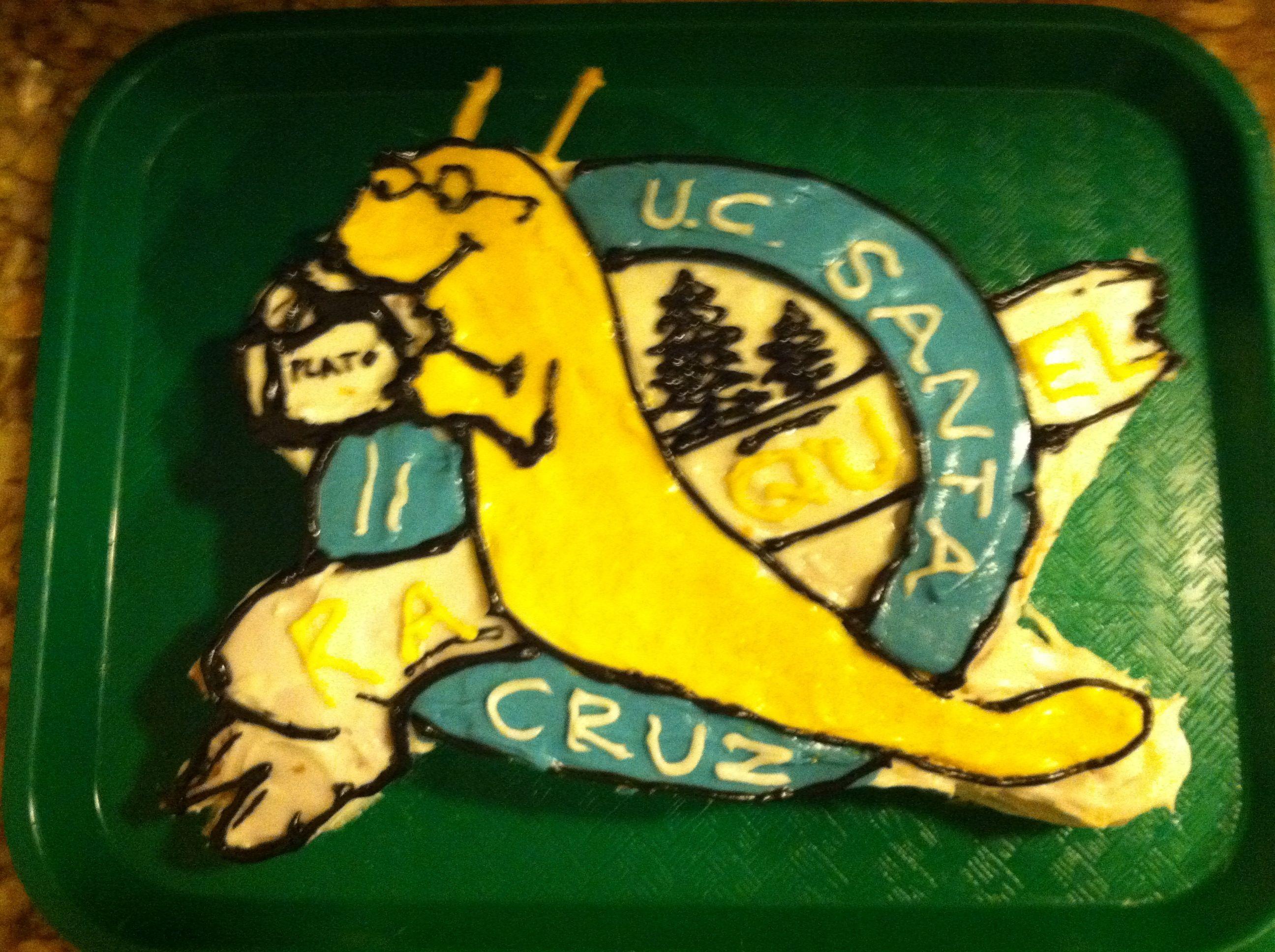 University Of California Santa Cruz Cake | First | Pinterest | Santa ...