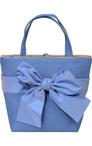 cc4578a1ae5b3 Bezaubernde Trachten-Tasche von Susanne Spatt in Hellblau. Mit floralem  Innenfutter in Hellblau