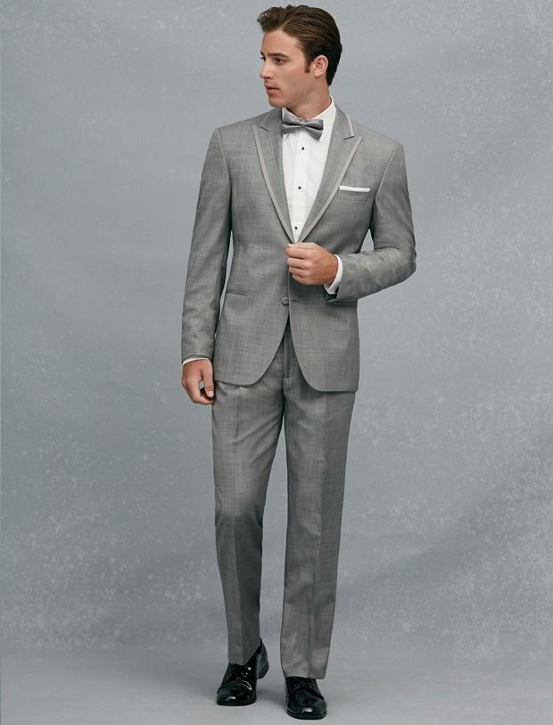 Calvin Klein One-Button Super 100s Peak Lapel | Happily Ever After ...